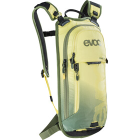 EVOC Stage Sac à dos Technical Performance 3l + 2l réservoir d'hydratation, yellow-light olive